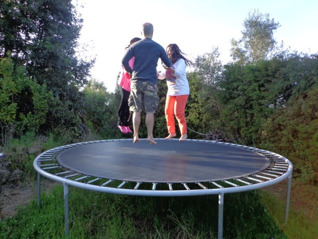 Trampolin medium